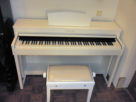 yamaha e piano clp 430 wei matt klavierverkauf. Black Bedroom Furniture Sets. Home Design Ideas