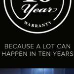 10 Jahre Garantie auf alle HP- und LX-Modelle
