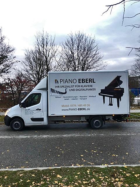 Klavier- und Flügeltransport